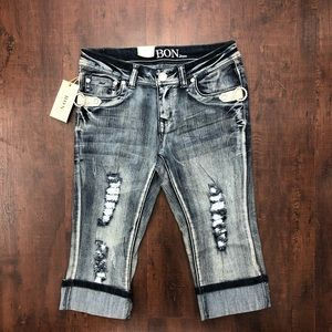 Pants - Denim BON Capri